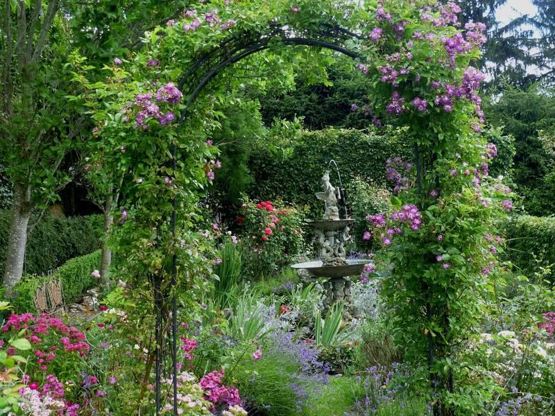 Almenland Sulamith Garten Themengarten Kräuter Steiermark