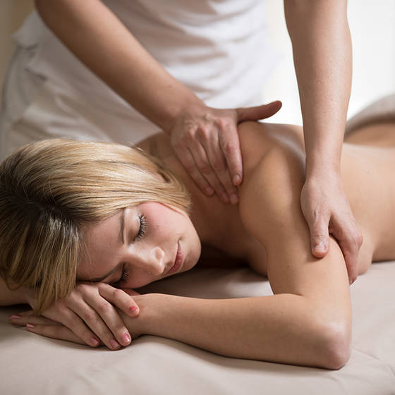 Massage beim Almwellness Hotel Pierer