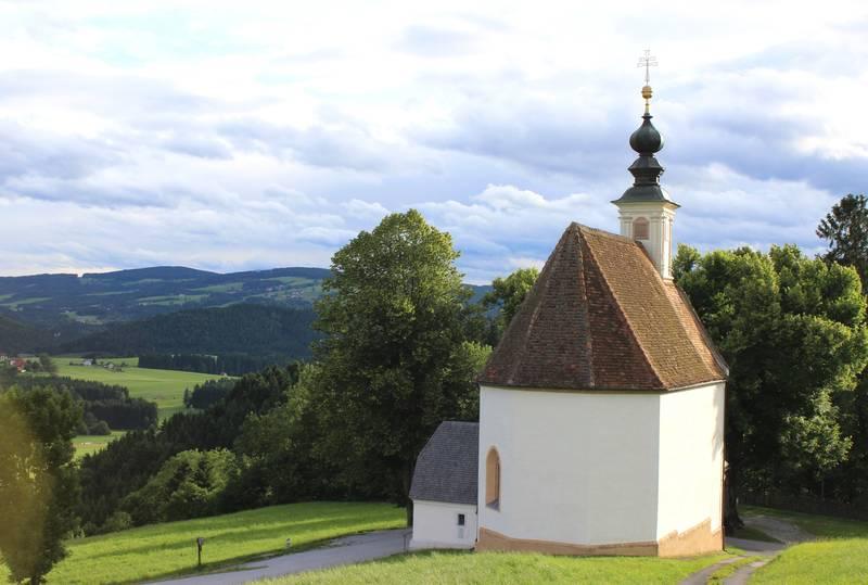 Almenland Lindenbergkirche Filialkirche In Passail Steiermark