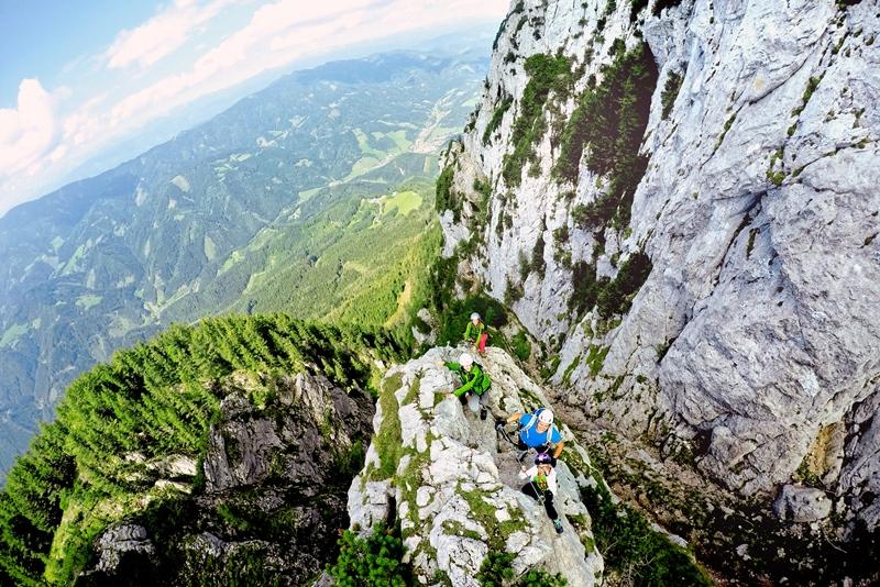Klettersteig Hochlantsch : Almenland franz scheikl klettersteig hochlantsch steiermark